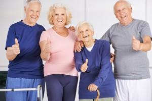 Lachende Schwaben  Senioren im besten Alter