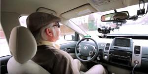 Autofahren-Blinde