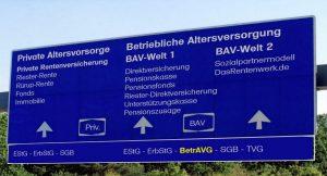 BetrAVG - Betriebsrentengesetz Das Arbeitsschutzgesetz in der Betrieblichen Altersversorgung