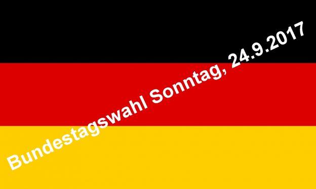 Bundestagswahl 2017– Jeder ab 18 sollte wählen gehen