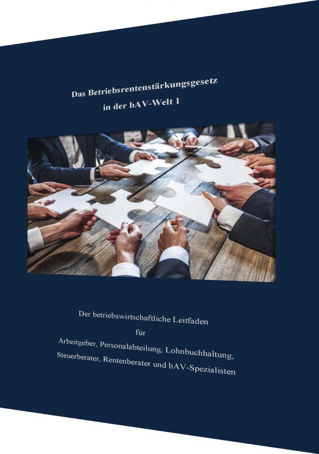 Betriebsrentenstärkungsgesetz – Online-Seminare und Fachliteratur