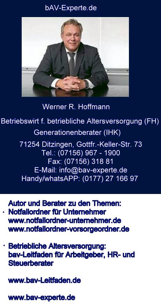 bav-experte-Werner-r-Hoffmann-betriebliche Altersversorgung