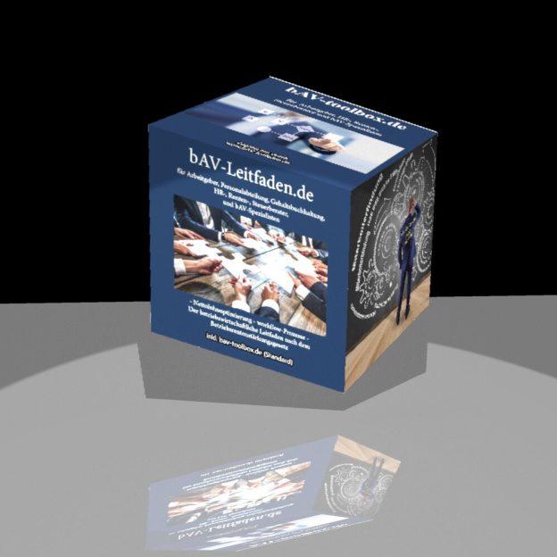 BAV-toolbox und BAV-Leitfaden für BAV-Berater