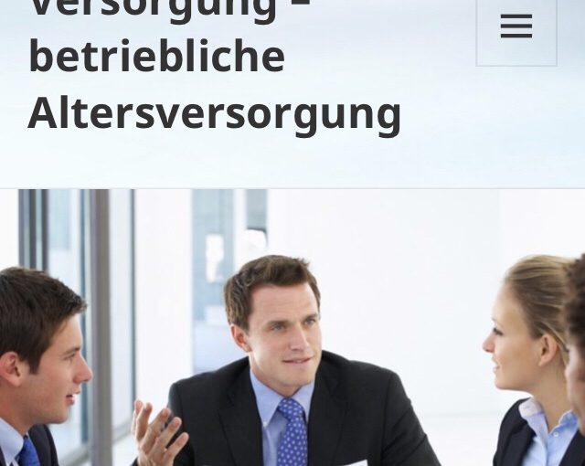 Betriebliche Altersversorgung- Auswahl Berater und Versicherungsunternehmen