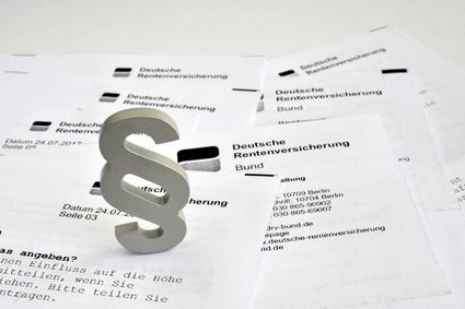 Einkommensanrechnung bei der Erziehungsrente oder Witwenrente