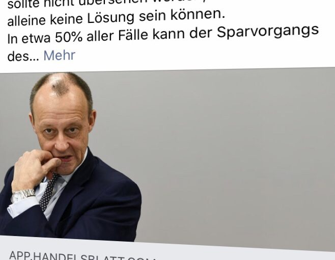 Friedrich Merz will Arbeitgeber zur betrieblichen Altersversorgung zwingen. Allerdings in Fondslösung