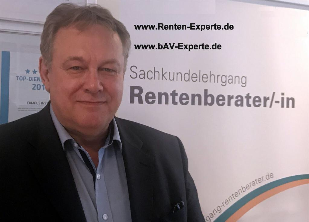 Rentenberater  Sachundenachweis Rentenexperte