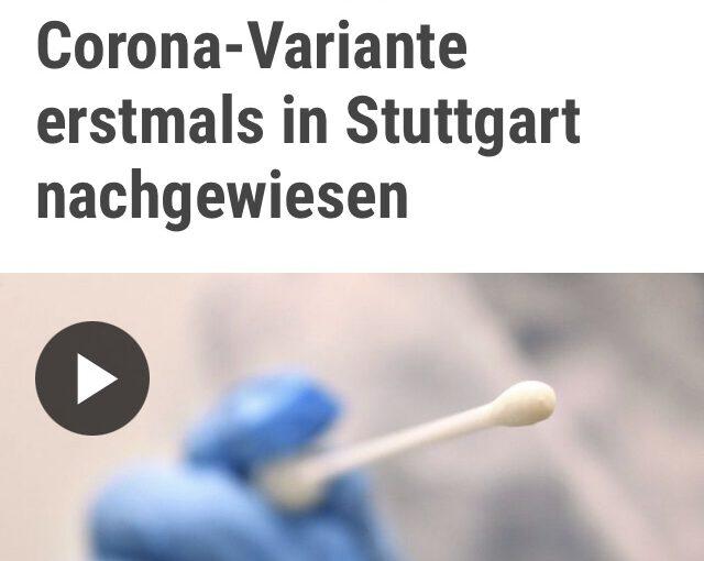 Südafrikanischer Coronavirus in Stuttgart angekommen