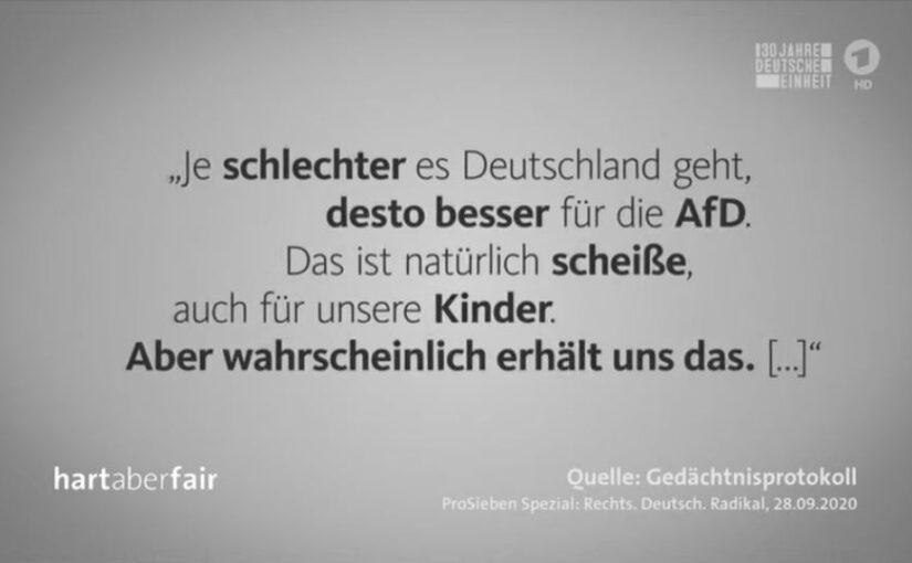 Warum die AfD keine demokratische Partei ist und durch den Verfassungsschutz überwacht werden muss.